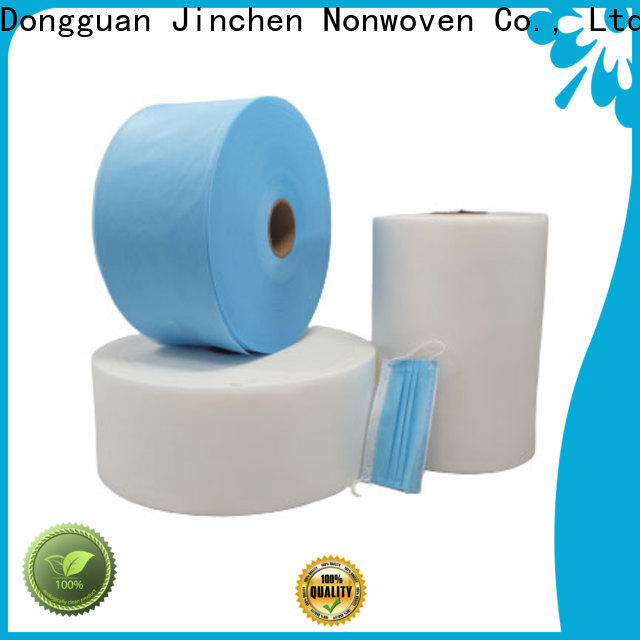 Jinchen fast delivery medical non woven fabric manufacturers for medical products