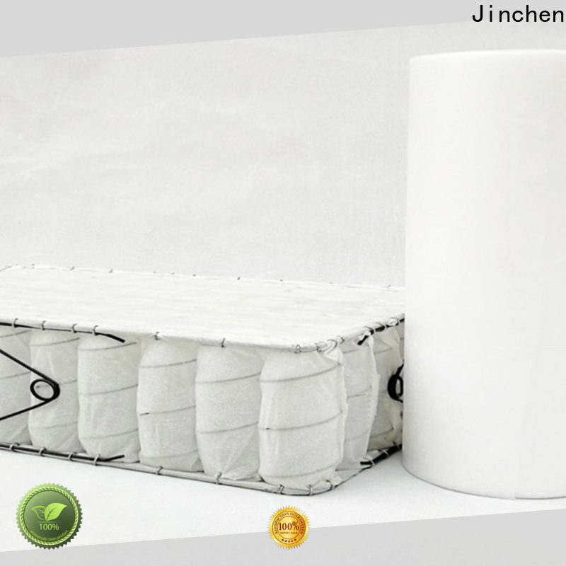 Jinchen non woven fabric products factory for bed