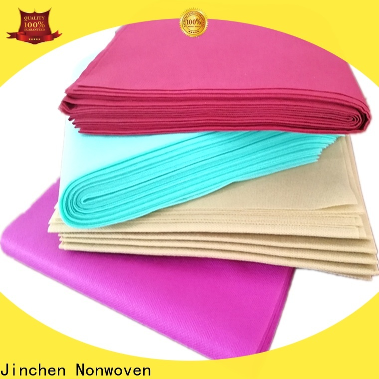 Jinchen tnt non woven material manufacturer for sale