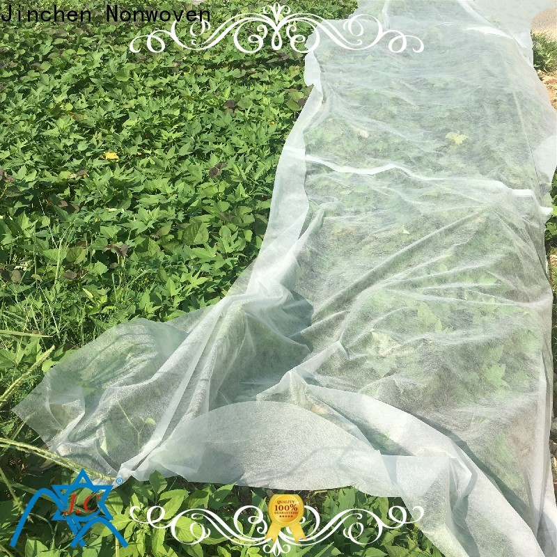 Jinchen anti uv agricultural fabric suppliers ground treated for greenhouse