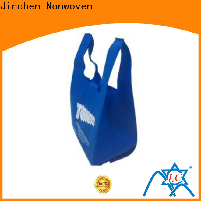 Jinchen pp non woven bags handbags for shopping mall