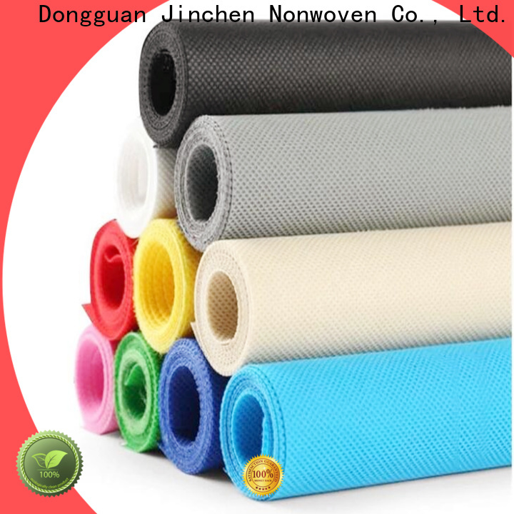 Jinchen reusable pp spunbond nonwoven fabric cloth for furniture