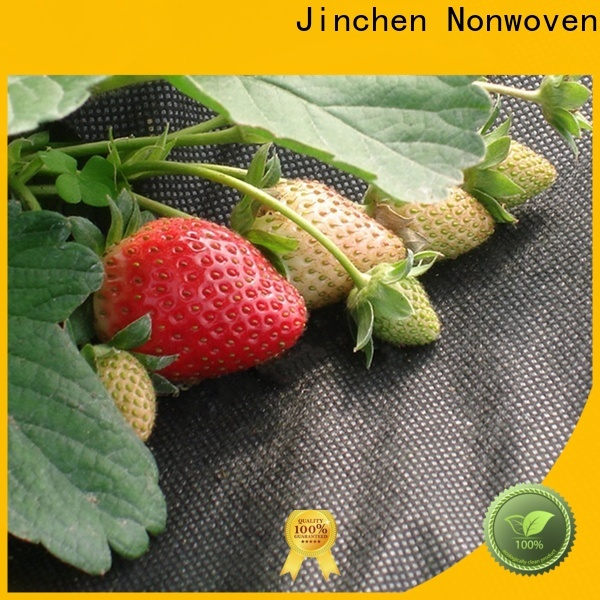 Jinchen ultra width agriculture non woven fabric forest protection for garden