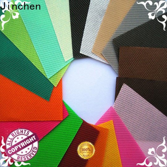 Jinchen pp spunbond non woven fabric bags for furniture