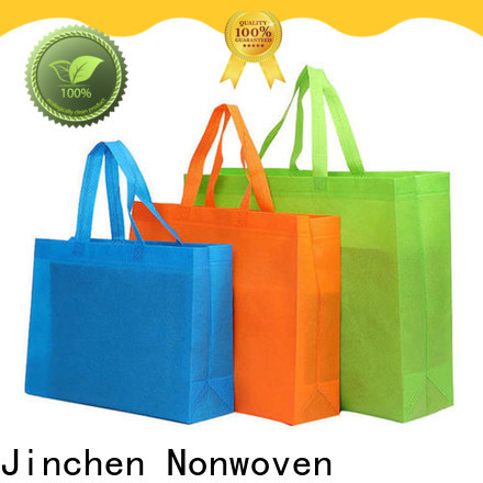 Jinchen eco friendly non woven carry bags for busniess for supermarket