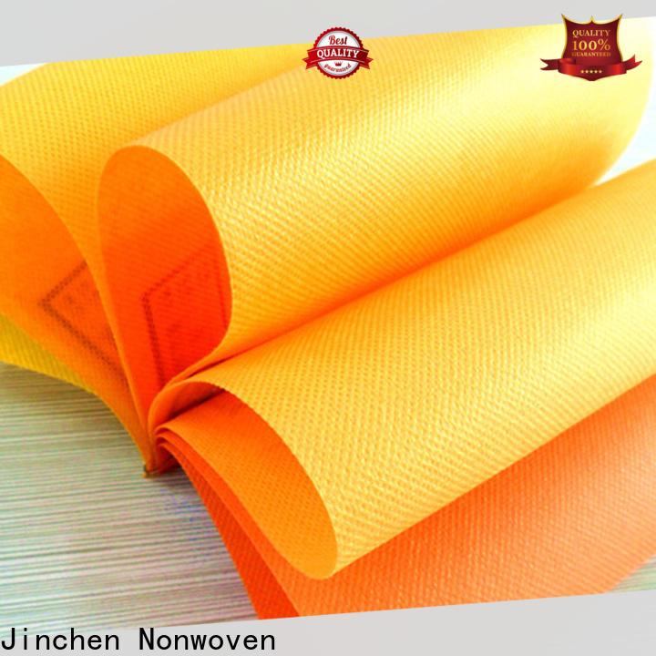 Jinchen custom pp spunbond nonwoven fabric factory for sale