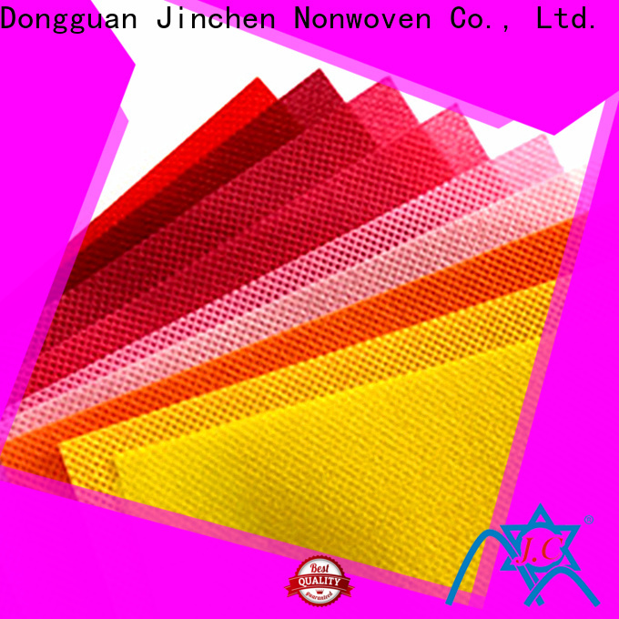 Jinchen wholesale polypropylene spunbond nonwoven fabric cloth for furniture