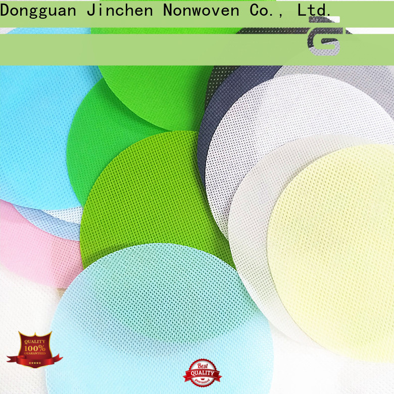 Jinchen wholesale pp spunbond nonwoven fabric with customized service for furniture