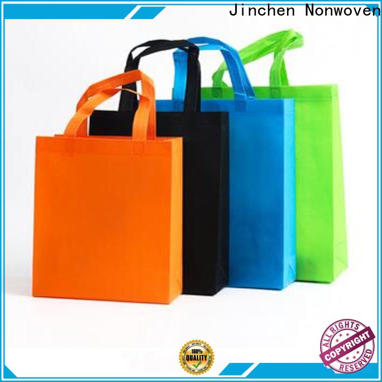Jinchen top pp non woven bags supplier for supermarket