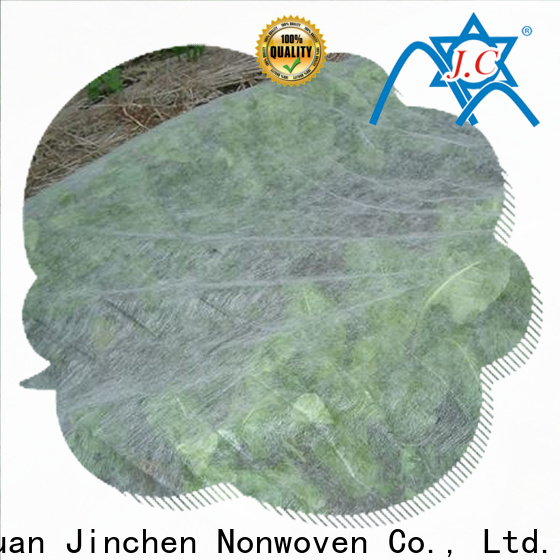 Jinchen high quality spunbond nonwoven fruit cover for greenhouse