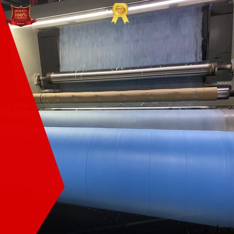 Jinchen white medical nonwoven fabric factory for medical products