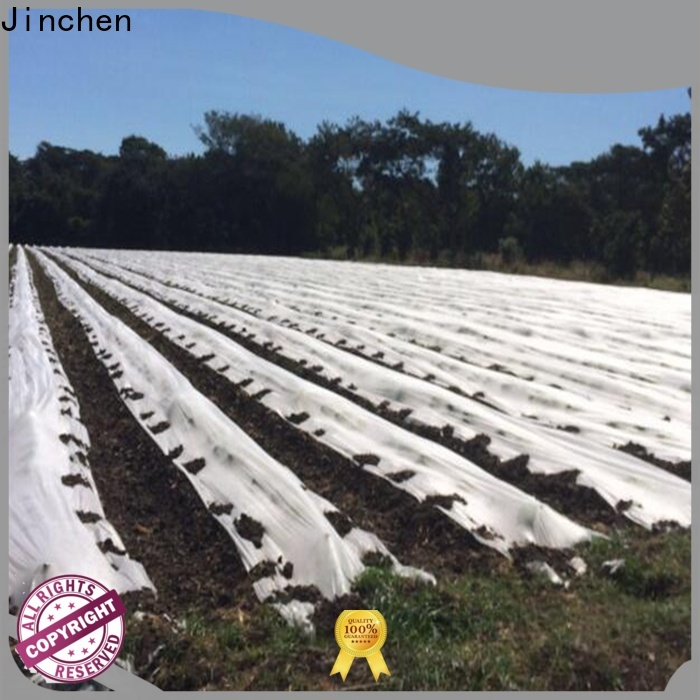 Jinchen best agriculture non woven fabric ground treated for greenhouse