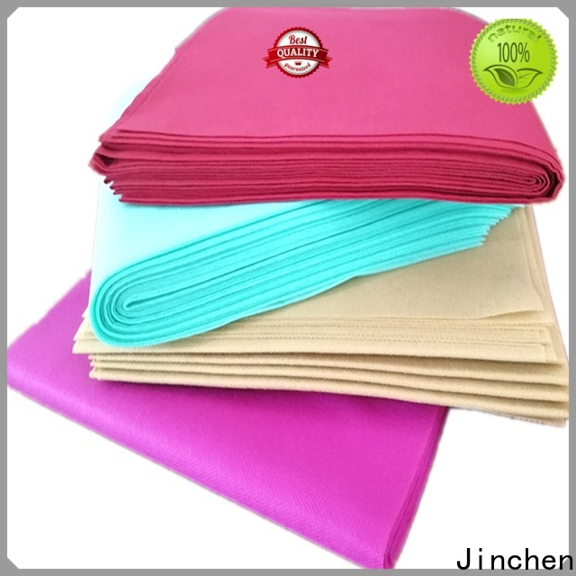 Jinchen best nonwoven tablecloth with printing for sale