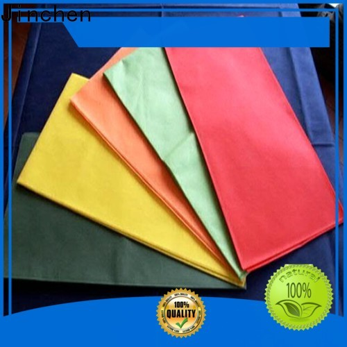 Jinchen high quality tnt tablecloth factory for sale