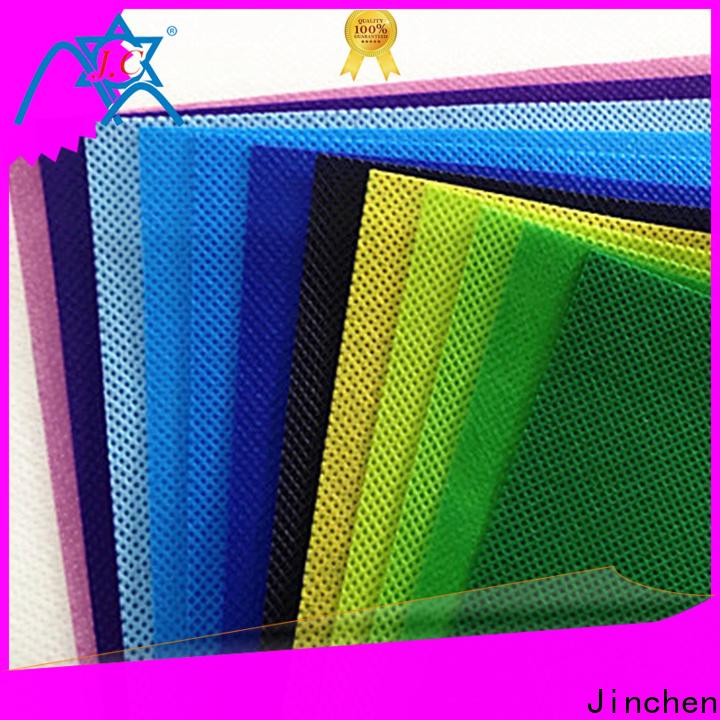 Jinchen polypropylene spunbond nonwoven fabric manufacturer for furniture