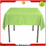 ecofriendly fabric tablecloths supplier for restaurant