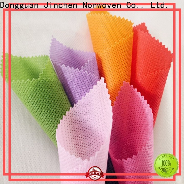 Jinchen customized polypropylene spunbond nonwoven fabric company for furniture