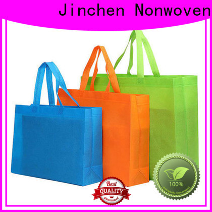 Jinchen custom reusable bags with customized logo for shopping mall