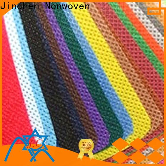Jinchen polypropylene spunbond nonwoven fabric for busniess for furniture