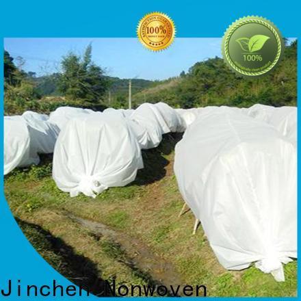 Jinchen custom spunbond nonwoven fabric ground treated for garden