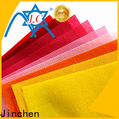 Jinchen waterproof pp spunbond non woven fabric bags for agriculture