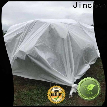 Jinchen high quality spunbond nonwoven fabric fruit cover for garden