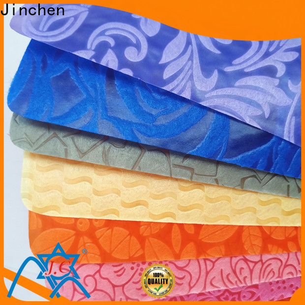 Jinchen customized polypropylene spunbond nonwoven fabric covers for furniture
