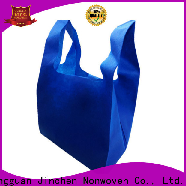 reusable u cut non woven bags factory for shopping mall