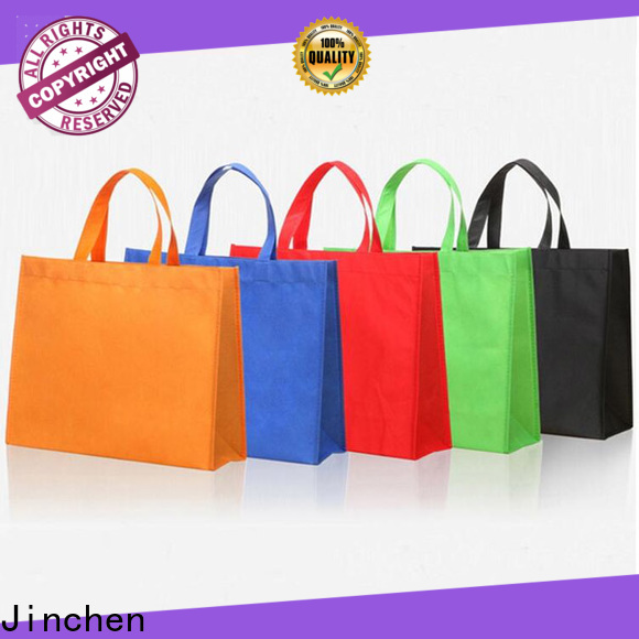 Jinchen best non plastic carry bags with customized logo for shopping mall