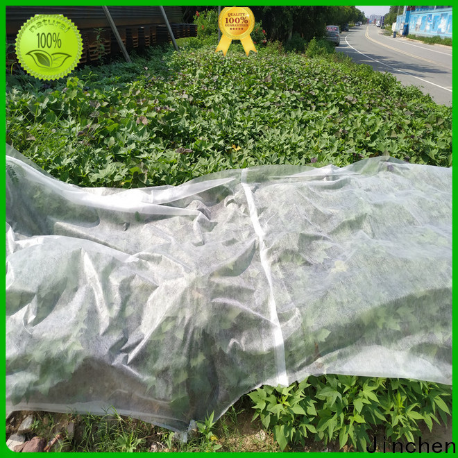 Jinchen latest spunbond nonwoven forest protection for garden
