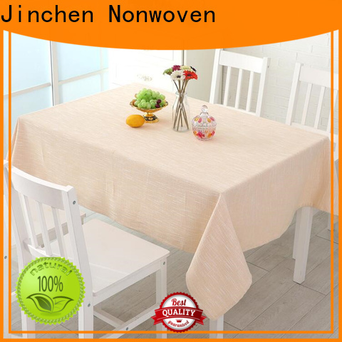Jinchen professional tnt non woven fabric with printing for sale