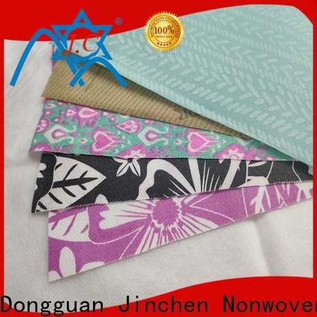 Jinchen customized pp spunbond non woven fabric manufacturer for sale