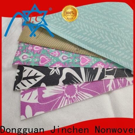 Jinchen customized pp spunbond non woven fabric manufacturer for sale