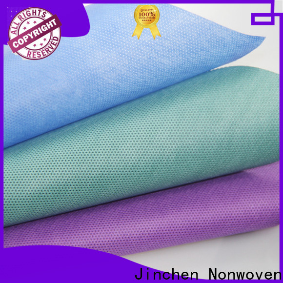 Jinchen white non woven medical textiles suppliers for sale