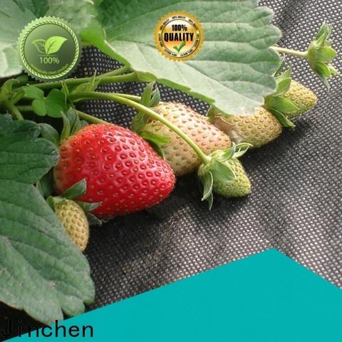 Jinchen high quality spunbond nonwoven ground treated for garden