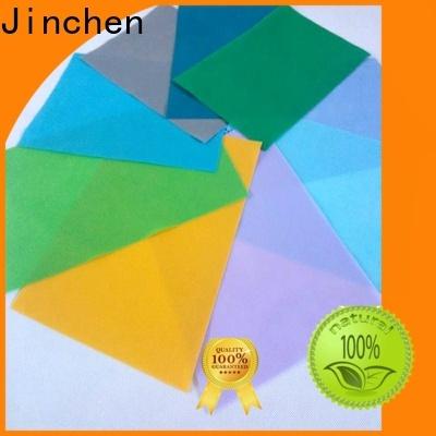 Jinchen colorful pp spunbond non woven fabric bags for sale