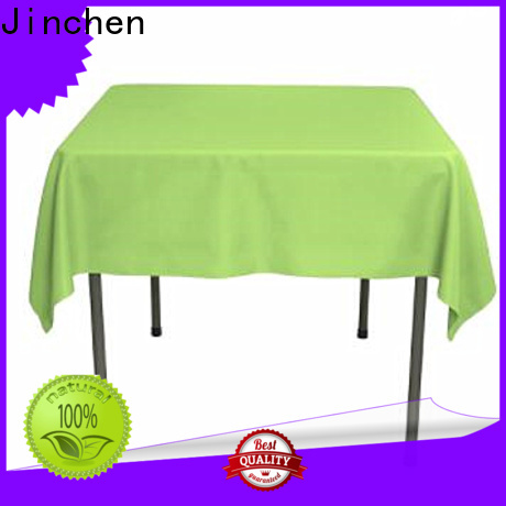 Jinchen tnt non woven material with printing for restaurant