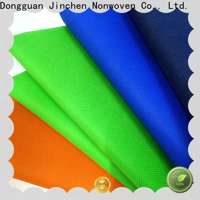 Jinchen pp spunbond non woven fabric with customized service for sale