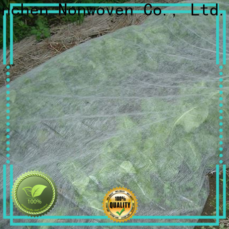 Jinchen anti uv agriculture non woven fabric fruit cover for tree