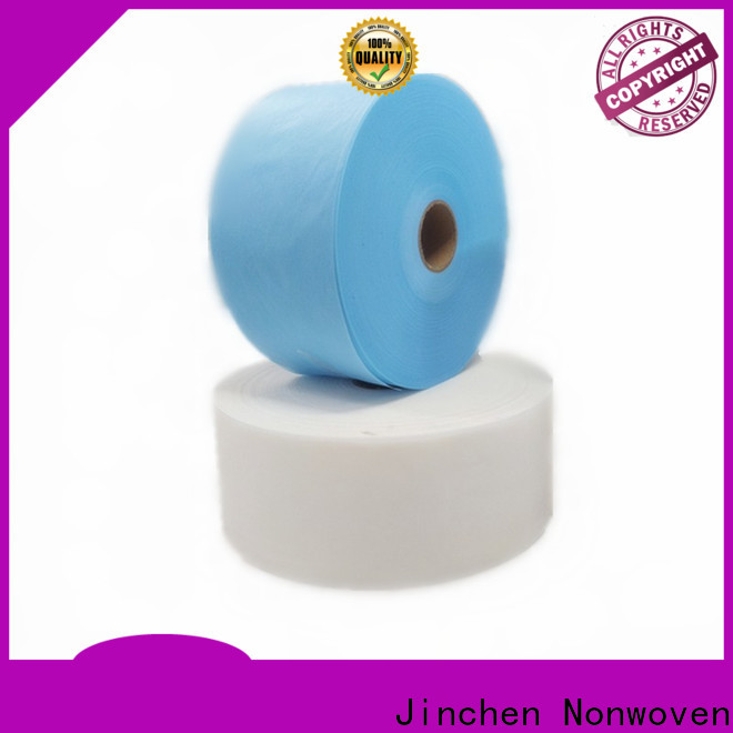 Jinchen factory price medical non woven fabric manufacturers for medical products