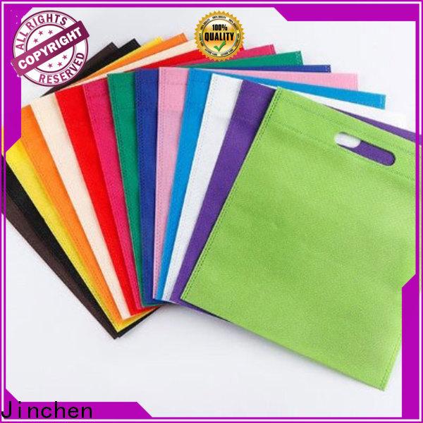 Jinchen printed non plastic bags company for sale