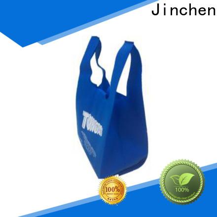 Jinchen non plastic bags factory for supermarket