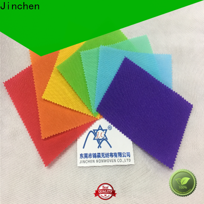 Jinchen customized pp spunbond nonwoven fabric cloth for sale