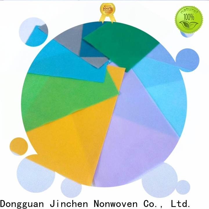 Jinchen polypropylene spunbond nonwoven fabric with customized service for furniture