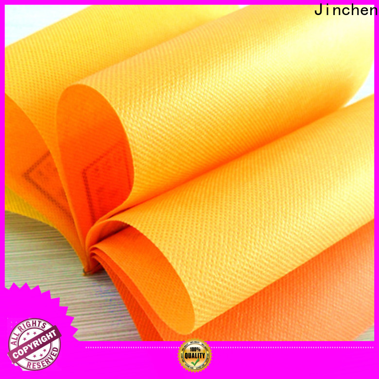 Jinchen waterproof pp spunbond nonwoven fabric cloth for agriculture