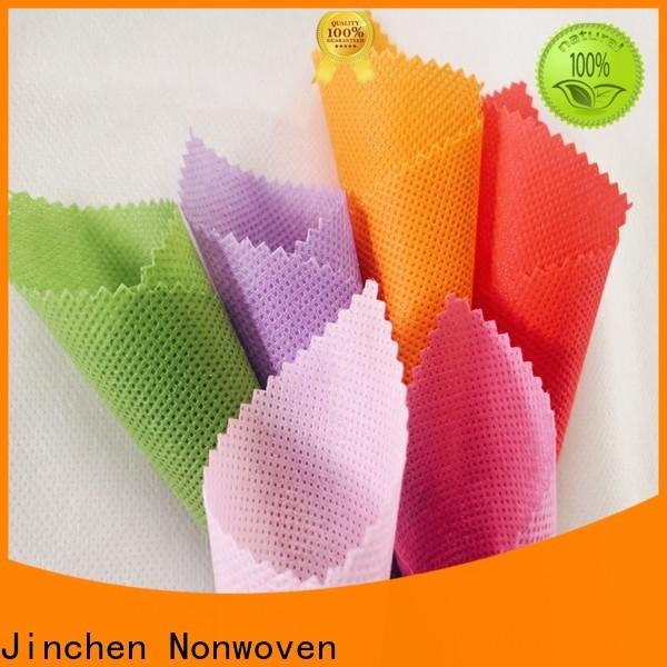 Jinchen new polypropylene spunbond nonwoven fabric for busniess for furniture