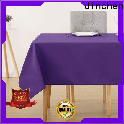 wholesale fabric tablecloths with customized service for dinning room