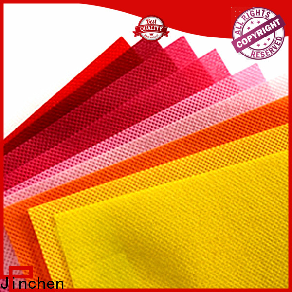 Jinchen pp spunbond non woven fabric cloth for furniture