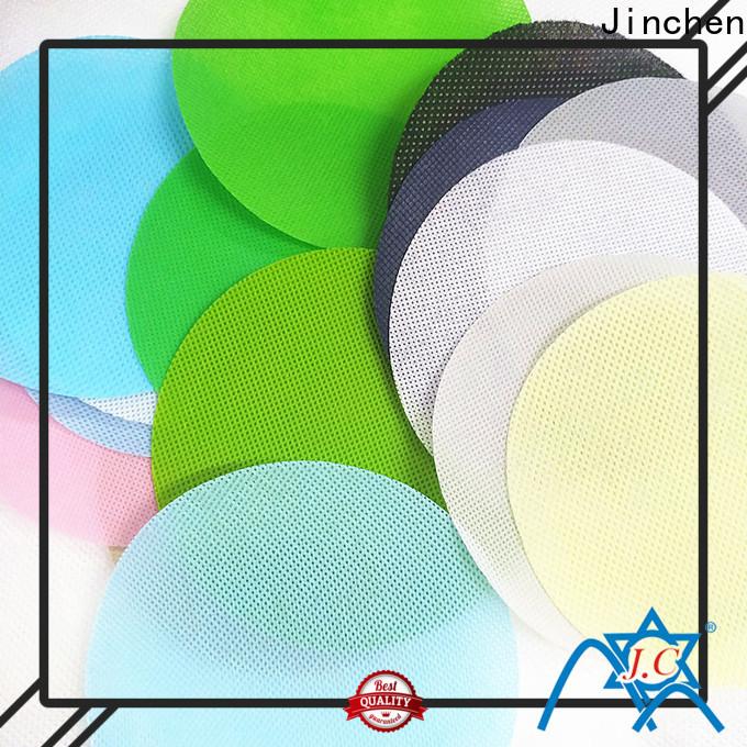 Jinchen pp spunbond non woven fabric supplier for sale