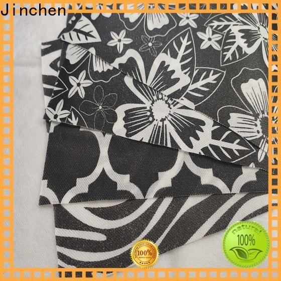 Jinchen waterproof pp spunbond non woven fabric bags for sale